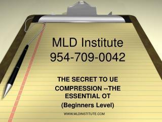 MLD Institute 954-709-0042