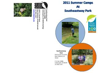 2011 Summer Camps  At  Southeastway Park