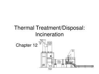 Thermal Treatment/Disposal:  Incineration