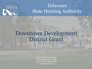 Downtown  Development District Grant