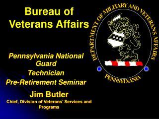 Bureau of Veterans Affairs