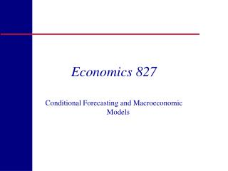Economics 827
