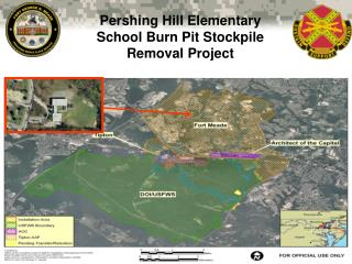 Pershing Hill Elementary School Burn Pit Stockpile Removal Project