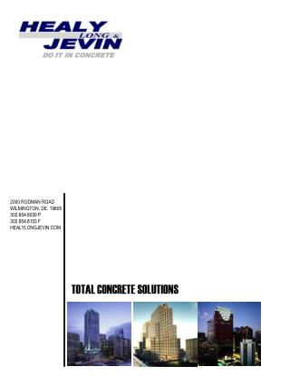 TOTAL CONCRETE SOLUTIONS