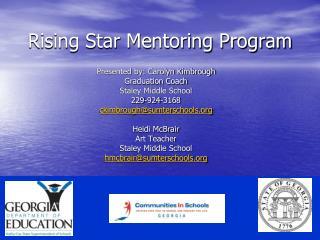 Rising Star Mentoring Program