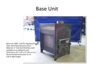Base Unit
