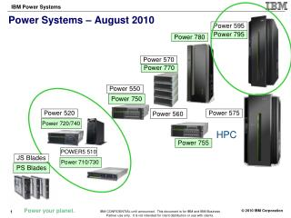 Power Systems – August 2010