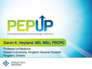 Professor  of Medicine Queen's  University, Kingston  General Hospital Kingston,  Ontario