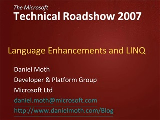 Language Enhancements and LINQ