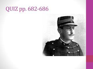 QUIZ pp. 682-686