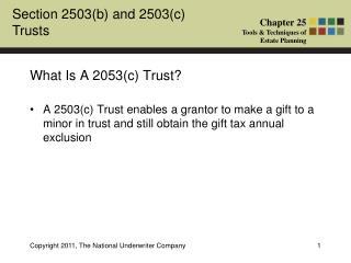 grantor retained annuity trust analysis