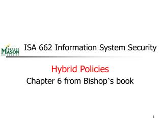 ISA 662 Information System Security