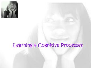 Learning & Cognitive Processes