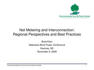 Net Metering and Interconnection: Regional Perspectives and Best Practices