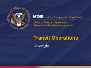 Transit Operations