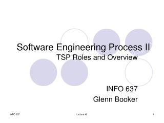 Software Engineering Process II