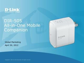 DIR-505 All-in-One Mobile Companion