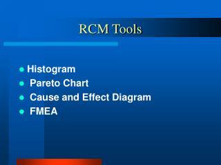 RCM Tools