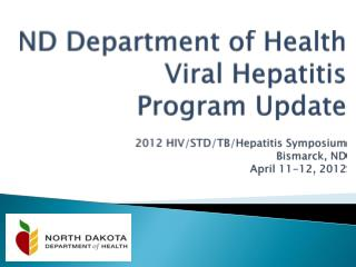 NDDoH Viral Hepatitis Program