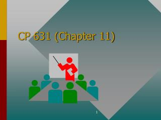 CP 631 (Chapter 11)