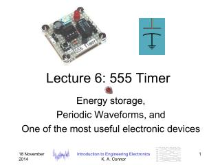 Lecture 6: 555 Timer