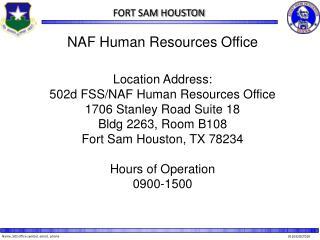 NAF HRO Topics