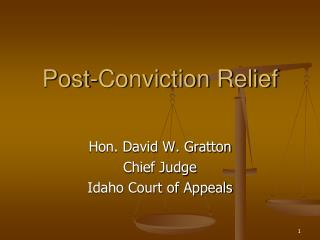 Post-Conviction Relief