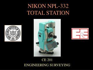 NIKON NPL-332  TOTAL STATION