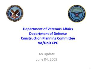 Department of Veterans Affairs Department of Defense Construction Planning Committee VA/DoD CPC