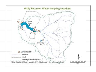 Griffy Field Teams and Water Sample IDs
