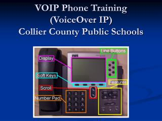VOIP Phone Training (VoiceOver IP) Collier County Public Schools