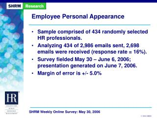 Employee Personal Appearance