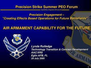 Precision Strike Summer PEO Forum