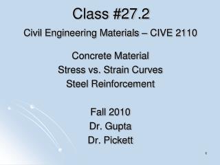 Class #27.2