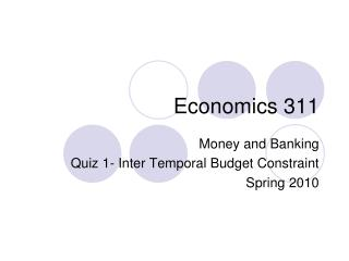 Economics  311
