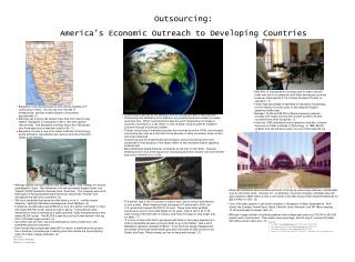 Outsourcing:  America s Economic Outreach to Developing Countries