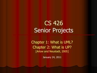 CS 426 Senior Projects