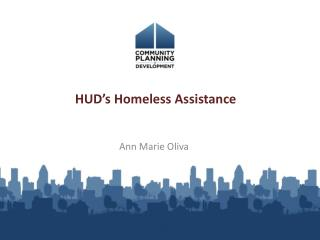 HUD's Homeless Assistance