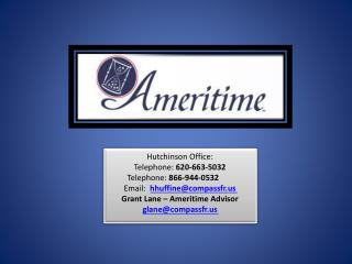 Hutchinson Office: Telephone:  620-663-5032  Telephone:  866-944-0532