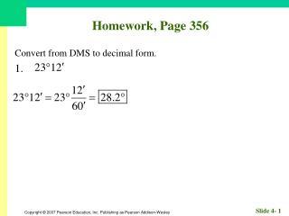 Homework, Page 356