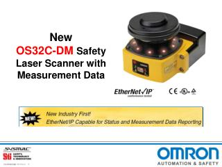 New  OS32C-DM Safety Laser Scanner with Measurement Data
