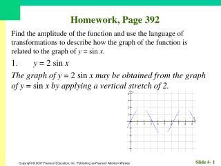 Homework, Page 392