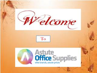 A Short Clip on Astute Office Supplies