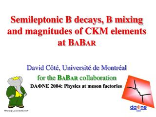 Semileptonic B decays, B mixing and magnitudes of CKM elements at B A B AR