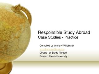 Responsible Study Abroad Case Studies - Practice