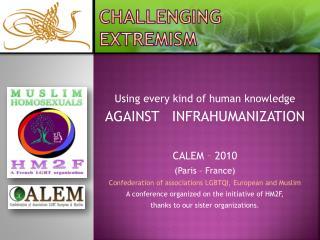 Challenging  extremism
