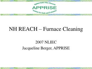 NH REACH � Furnace Cleaning
