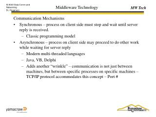 Middleware Technology