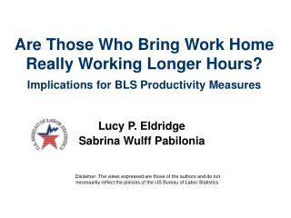 Are Those Who Bring Work Home Really Working Longer Hours