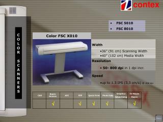 Color FSC X010
